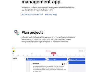 Saas App - Roadmap
