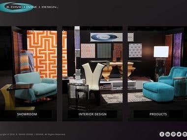 Bdavid Levine Showroom website from Los Angeles