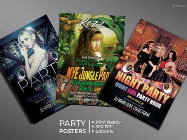 Party Poster's