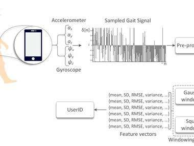 User Identification and Classification from Smartphone Data