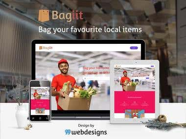 Bagiit Website UI UX Design