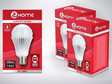 LED bulb Packaging Design