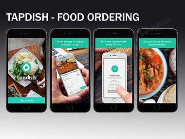 Tapdish - Food Ordering App