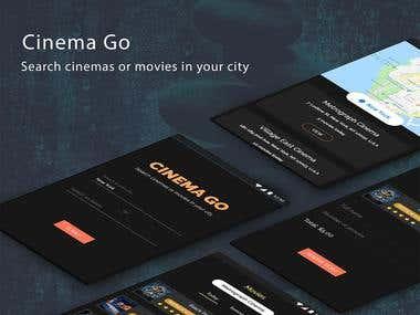 Cinema Go - UI/UX App Template