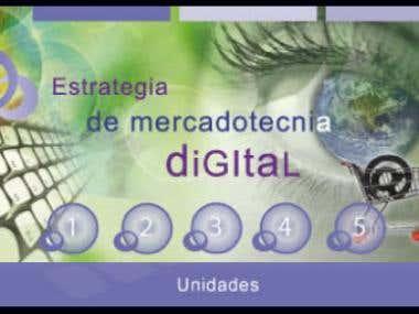 """Banner """"Estrategia de mercadotecnia digital"""""""