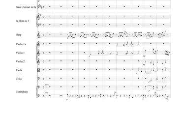 Music Composition and Score