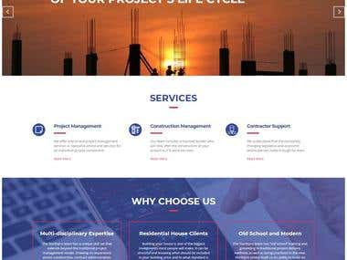 North Pro - Project Management Company related website