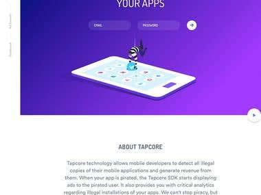 Saas App - Tapcore