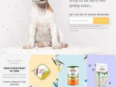 Ecommerce Project - Viva Animali