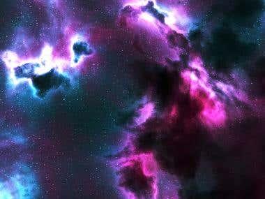 3D Universe Nebula