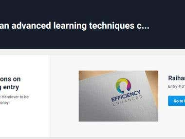 Efficiency Enhanced Logo