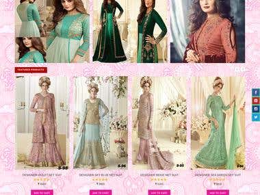 Woman attire ecommerce