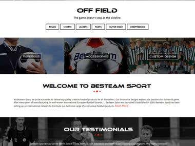 Ecommerce: Sports Products/http://www.besteamsport.com.au/