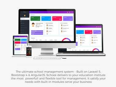 Complete School management System with App