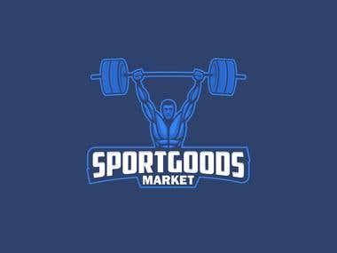 Sport goods logo