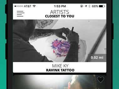 Ravink iOS App