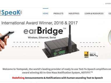http://www.textspeak.com/