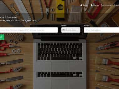 Garagemooch - Laravel website