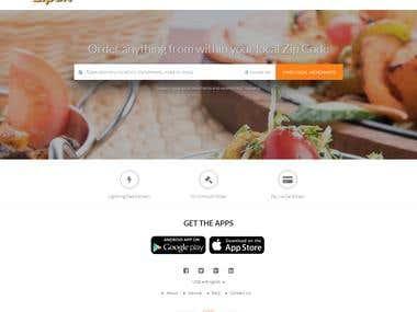 Zipdit - Laravel website