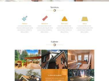 ONYXRÉSIDENTIEL website design