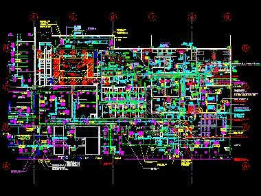 Mechanical and structure drawing by Autocad