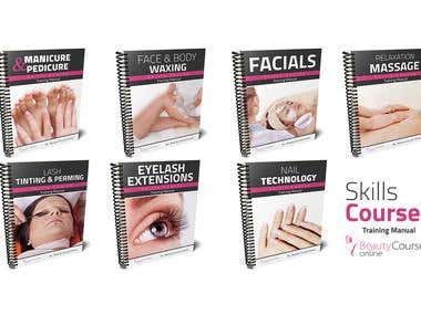 Beauty Courses Online Covers