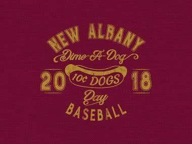 """Dime-A-Dog Day"" T-shirt"