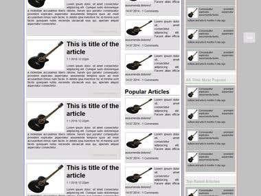 This is Joomla Blog Template.