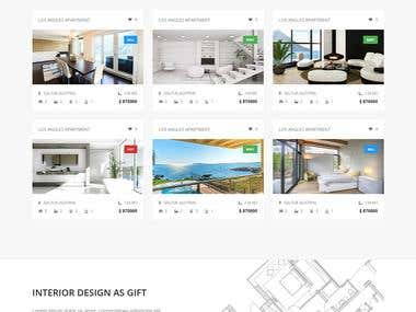 Professional Real Estate Website