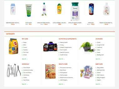 Multi vendor- Online Medical Store