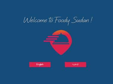 Foodysudan - Food ordering website