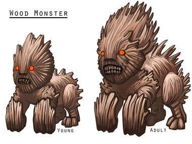 Comic Style Creature Design