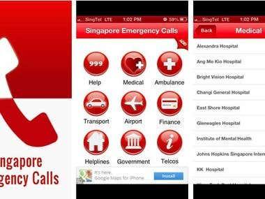 Singapore Emergency Calls APK