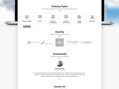 UTMITY- Training Platform