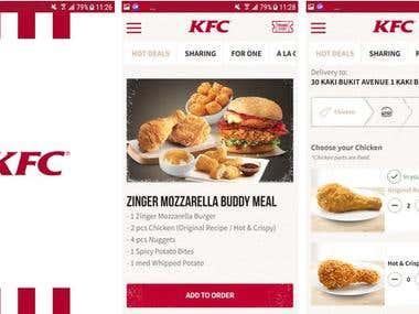 KFC Singapore APK