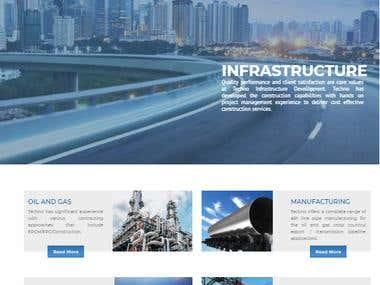 Techno Engineering- Wordpress