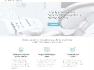 Practice partner - landing page for capture leeds.