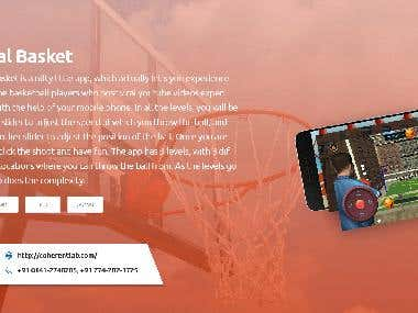 Viral Basket game app for android and ios