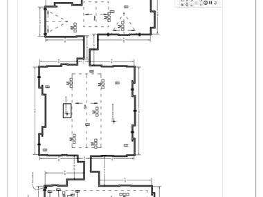 Roof plan drawings for roofing contractor's purposes