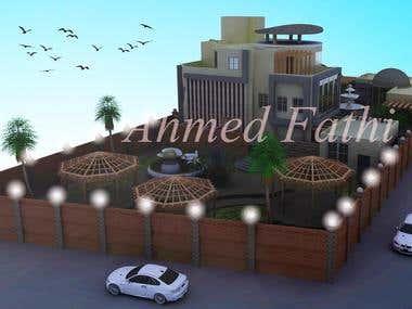 Modern Villa in saudia arabia
