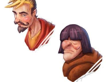 Stylized Character Portraits