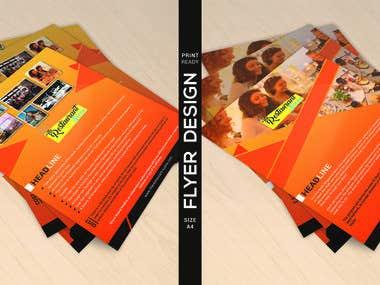 Flyer Design For a Restorant