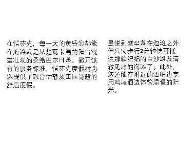 Marketing Brochure Translation (English to Chinese)