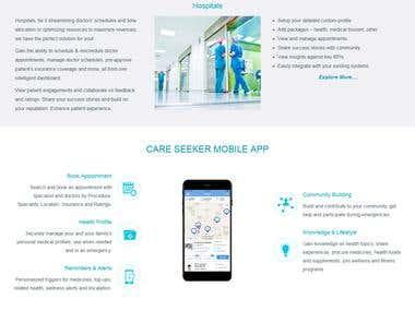Hospital Management Website