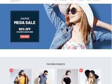 Shopping cart-Wordpress
