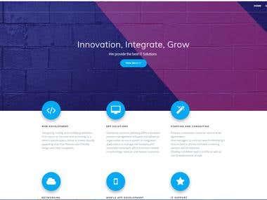 Landing Page-Wordpress
