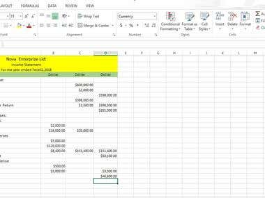 income statement( Accounting)