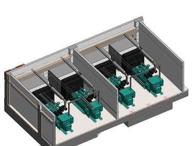 3D IMAGES OF SUBSTATIONS BEING DESIGNED IN KUWAIT