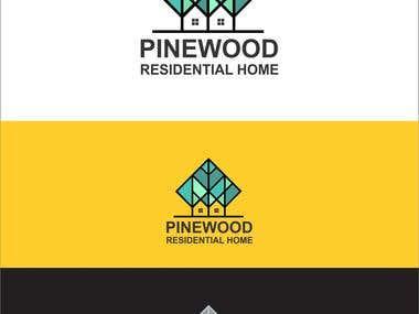 Logo design-pinewood residential home