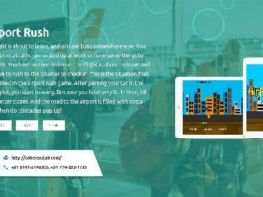 AIRPORT RUSH Mobile App